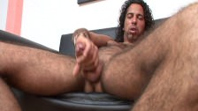Horny Latino Dick Stroking For The Fans