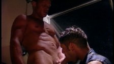 Gay Shower Cock Sucking And Anal Banging