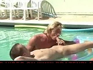 Dallas And Austing Poolside Sex