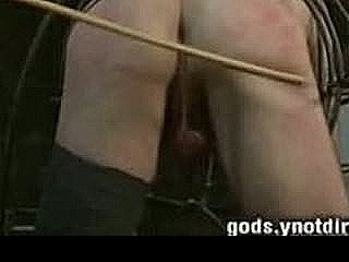 He Fucks A Pain Slut In The Electrified Metal Cage