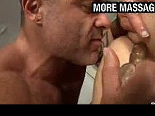 Masseuse Gets His Dick In Clients Ass