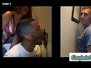 Straight Guy Gets A Blowjob From Amateur Gay In Gloryhole