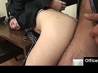 Rough Office Gay Blowjob With Hot Studs