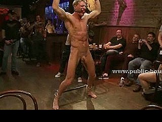 Public Bar Receives A Gay Boy Gift To Serve Gang For Ravaged Extreme Group Sex