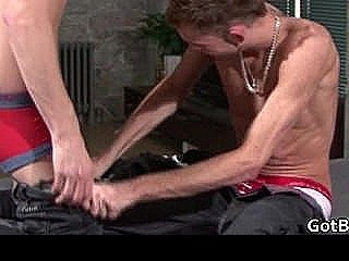 Kane And Tony In Steamy Homosexual Making Out