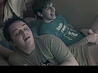 Straight Teen Guy In Hot Gay Threesome