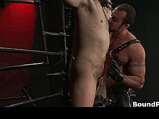 Noah Gets Strung Up And Tortured Gay