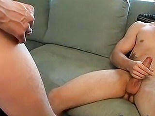 Plumber On His Knees Sucks Two Big Dicks And Gets Anal Fuck