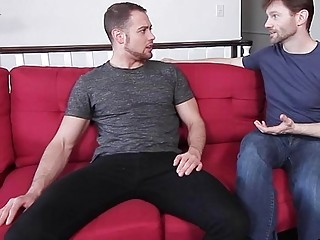 Gays Having Threesome With Uncut Dick Fucking Anal