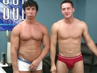 Twinks In Underwear Tease And Then Get Down To Fucking