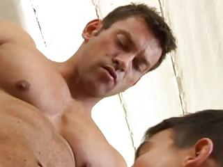 Hunk Gay Mark Long Gets Down To Pound Damien Michaels Tight Ass
