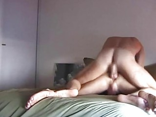Ringed Dick Of Tattooed Man Gets Sucked