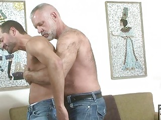 Older Man Awakes Twink For Blowjob