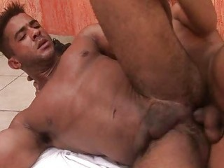 Hot Latinos Playing With Cum