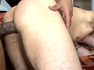 Black Dude Deepthroating Hard Cock