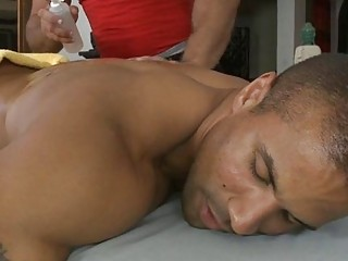 Blindfolded Stud Acquires A Cock Sucking Session