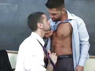 Homo Guy Acquires Anal Banging From Behind
