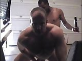 Randy Gay Dudes Bang Butt In The Garage