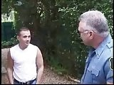 Older Cop Fucking With Boy