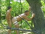 Hard Bodied Muscled Studs Pounding Ass Holes In The Woods