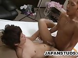 Japanese Dudes Naoto And Masatsugu Intimate With Each Other