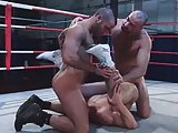 Boxing Threesome Sex