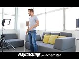 Gaycastings Blue Eyed Guys Gets Stabbed By Casting Couch Coc
