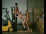 Hard Workers In Threesome