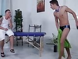 Lucky Twink Gets Massage - Ph