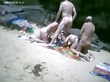 Group Beach Fuck