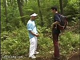 Lonely Twinky Walker Gets Ass-shagged In The Woods