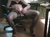 Sara Messes Her Stockings