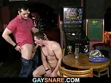 His First Gay Sex Experience In The Bar