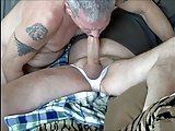 Daddy Sucking Cock