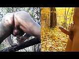 Natureguy Rear View Masturbation Multiple Orgasms +slideshow