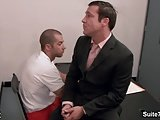 Sexy Gay Gets Ass Fucked At Interview