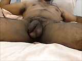 Hairy Uncut Indian - Breathing Balls