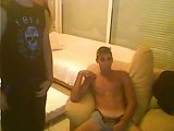 2 Greek Bi Handsome Guys With Big Nice Cock Have Fun On Cam