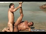 Hard Bareback Latino Gay Fuck