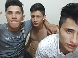 2 Handsome Latin Boys Have Sex And Cum 1st Time On Cam