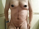 Nipple Play And Cum Show