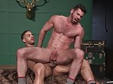 Ragingstallion Hairy Billy Santoro Fucked Right Up His Assho
