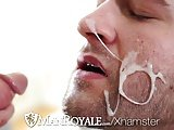 Manroyale - Abel Archer Caught Jerking To Porn By Derek Sky