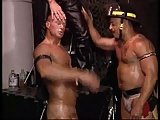 Muscles Leather Cigars And Hot Fireman