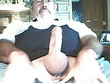 Silver Daddy Bear Jerk Off 3