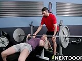 Ashton Getting A Hard Fuck In The Gym