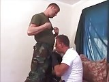 Military Mature Couple
