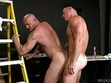 Menover30 Rugged Hunks Ass Fuck At Work