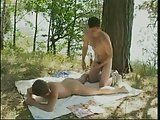 Boys Barebacking Outdoor