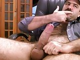 Big Dick Daddy Jerk Off   Cum